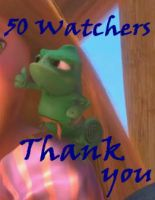 Thanks for watching - 50 Watchers by JOSGUI