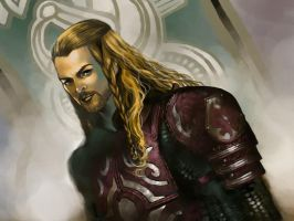Eomer of Rohan by Maelstromarts