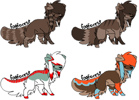 Scene Doggy Adopt Set 1 by Muffin-Adopts