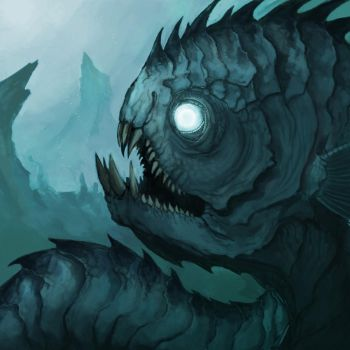 creature of the deep by Earl-Graey