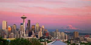Seattle in Pink by nburwell