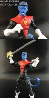 Marvel Legends Nightcrawler Custom by Jin-Saotome