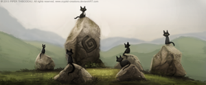 DAY 254. Sidhe - Visual Development 04 by Cryptid-Creations