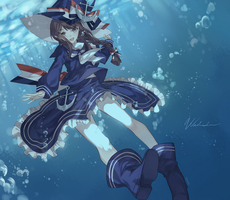 The Great Blue Sea by Kanekiru