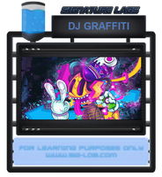 [PSD] DJ Graffiti by robbiebelike
