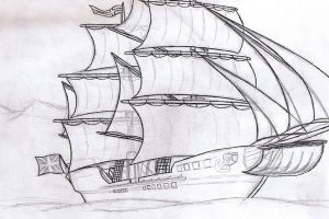 Royal English Navy Sketch... by Aliies