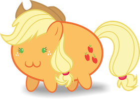 Applejack :3 by leopurofriki