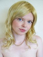 Blonde Wig Stock 1 by chamberstock