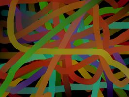 Strings of Color by Annaley
