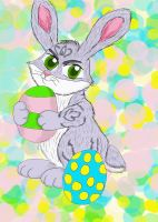 Little Easter Bunny by earthstar