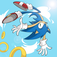 The Fast The Blue The Awesome by Eniotna