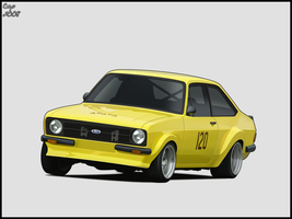 Ford Escort MK.II by Cop-creations