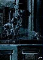 catwoman noir by LucaStrati