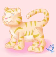 Liger Plushy by ChovexaniArt