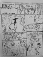 First day of College. pg 1 by Squidinkify