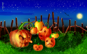 Pumpkins' night by altergromit