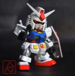 SD EX-STANDARD RX-78-2 GUNDAM by AndrewMS