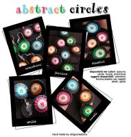 abstract circles by ichigocreations