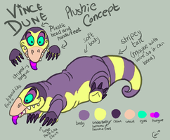 Plushie concept by Kaaziel