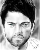 Misha Collins-Castiel by Rauge