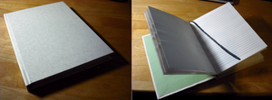 New Diary - Book binding first attempt by Gemneroth