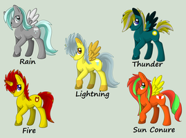 100 Theme Adopts 11-15 .:Open:. by Honey-Sweet-Pixel