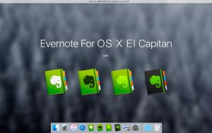OS X Yosemite - Evernote Alt by MaxColins