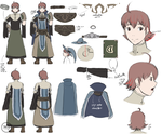 FE:A - Ricken Reference sheet by DragonBladerX