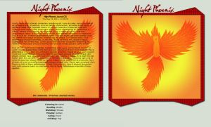 Night Phoenix Journal CSS by TheFlyinFerret