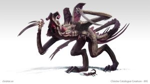 Ghardachin - creature concept by Cloister