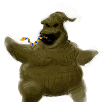 Oogie Boogie by ozwalled