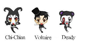 Voltaire, Deady, and Chi-Chian by kittens-3