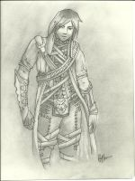 Guild Wars Character by rocknro8907