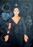 The Black Rite of Isis by sami-edelstein