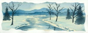 Winter Landscape by SmilinJack