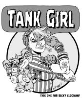 TANK GIRL - Rosie the Riveter by Rufus-Dayglo