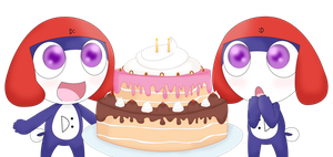 Happy Birthday Lati and Serene! by Captain-Dorkalicious