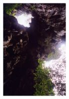 Rays in a Cave by Brem
