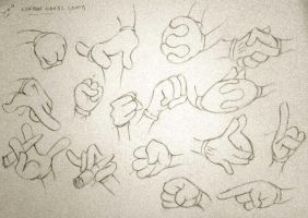 Hands Reference 02 by haiderali