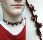'tooth fairy' necklace by evil-goma