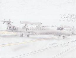 Embraer R-99 by 171Scorpia