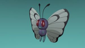 Butterfree by gogtash