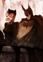 bats n cats by drawrobot