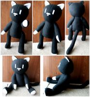 Mr. Mew Plushie - Commission by HezaChan