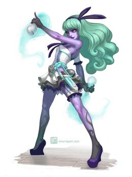 Monster High Meets Game Art: Twyla by Kuthinks