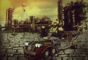 Steampunk-love-story by Mahhona