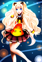 SeeU -fan art - by Marinau
