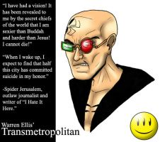 Spider Jerusalem by What-the-Gaff