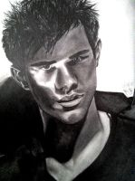 Taylor Lautner VMan by rozicullen