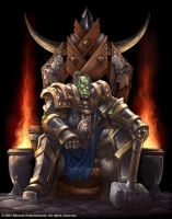 Warcraft - Lord of the Clans Book Cover by SamwiseDidier